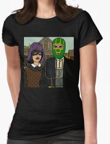Kick-Ass Womens Fitted T-Shirt