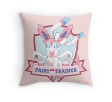 Fairy Trainer Throw Pillow