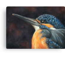 Little Fisher Canvas Print