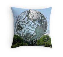 Welcome to Flushing Meadows NY Throw Pillow