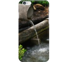 Down the pipe line 01 iPhone Case/Skin