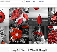 A Touch of Red - 1 May 2011 by The RedBubble Homepage