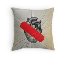 Color Chaos Collection -- First Aid Throw Pillow