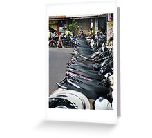 Transport Greeting Card