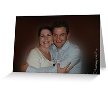 """""""Anna and Erez"""" Greeting Card"""