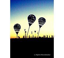 Lead Balloons Photographic Print