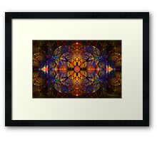 Crop My Splits Framed Print