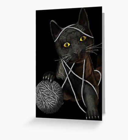 String Theory Greeting Card