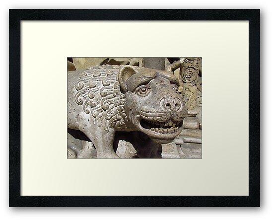 Vajdahunyad Lion by wiggyofipswich