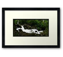 Elebana Streaming Framed Print