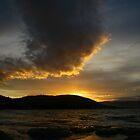 tassie sunset. australia by tim buckley   bodhiimages