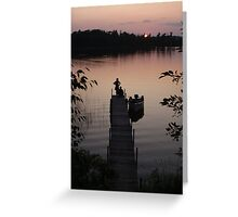 Contemplating Camelot Greeting Card