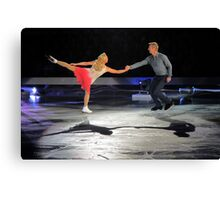 torvill and dean Canvas Print