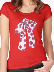 Fozzie Bow Tie Women's Fitted Scoop T-Shirt