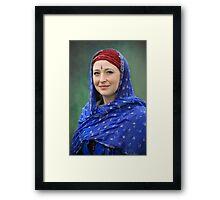 Fair Beauty Framed Print