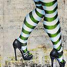 stripes'n'heels by Yvonne Lautenschlaeger aka medea