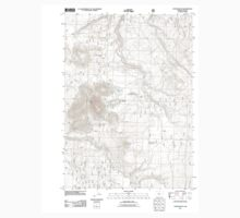 USGS Topo Map Oregon Foster Butte 20110727 TM Baby Tee