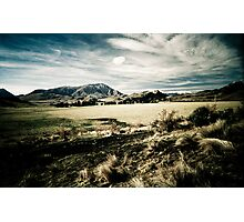 South Island Mountains - New Zealand Photographic Print