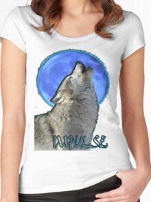 Wolfmoon Impulse Women's Fitted Scoop T-Shirt
