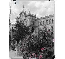 Plaza de Espana, Seville, colorsplash iPad Case/Skin
