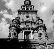 Plaza de Espana, Seville, Spain  by Andrea Mazzocchetti