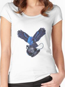 Silent Night Women's Fitted Scoop T-Shirt