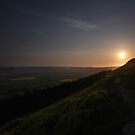 Sunrise on the Cleveland Hills by PaulBradley