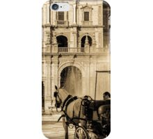 Plaza de Espana, Seville, Spain  iPhone Case/Skin