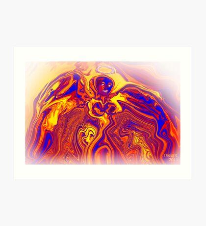 Angel Faith Art Print