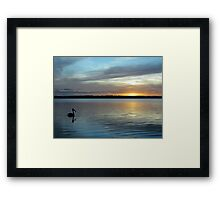 ~ Sunset ~ 1st of May ~ 2011 ~ Framed Print