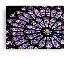 Rose Window I - NOTRE DAME DE PARIS Canvas Print