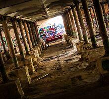Abandoned Underground Factory by Adara Rosalie