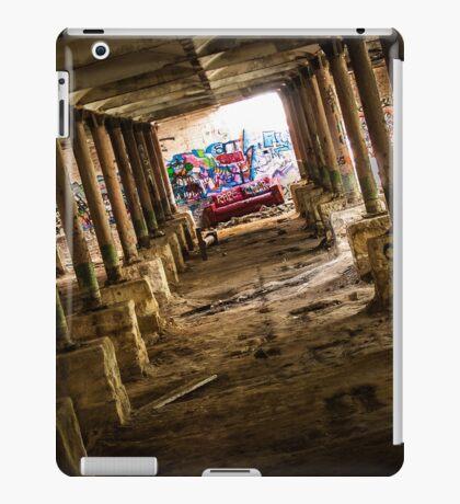 Abandoned Underground Factory iPad Case/Skin
