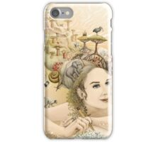 Animal princess iPhone Case/Skin