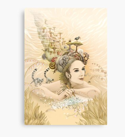 Animal princess Canvas Print