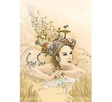 Animal princess Photographic Print