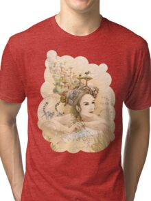 Animal princess Tri-blend T-Shirt