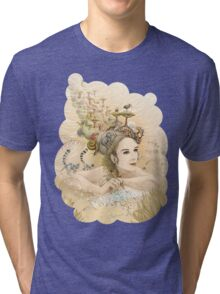 Animal princess Tri-blend T-Shirt