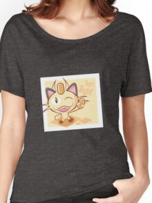 Meowth, that's right! Women's Relaxed Fit T-Shirt