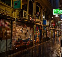 Center Place The Peoples Laneway Melbourne by James  Key