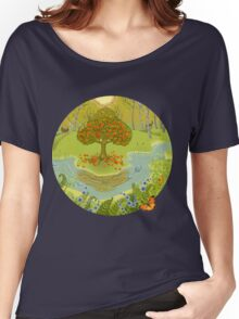 Magic forest Women's Relaxed Fit T-Shirt