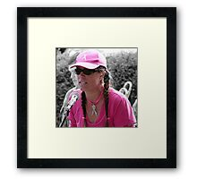 Woman of Substance Framed Print