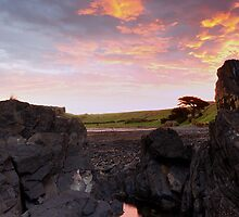 Kings Sunset by Stephen Gregory