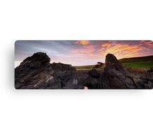 Kings Sunset Canvas Print