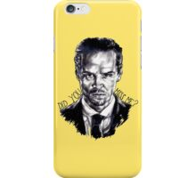 Did you miss me? (J. Moriarty) iPhone Case/Skin