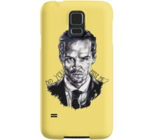 Did you miss me? (J. Moriarty) Samsung Galaxy Case/Skin
