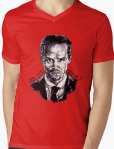 Did you miss me? (J. Moriarty) Mens V-Neck T-Shirt