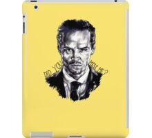 Did you miss me? (J. Moriarty) iPad Case/Skin
