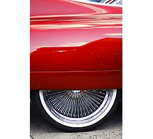Fender skirt Photographic Print