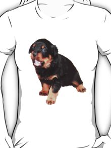 Cute Rottweiler Puppy T-Shirt